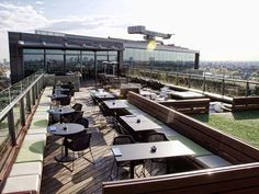 Doubletree Hilton Amsterdam: hotel with the best skybar! | http://www.yourlittleblackbook.me/doubletree-hilton-amsterdam-hotel/