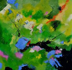 abstract 8831112, painting by artist ledent pol