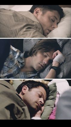 supernatural, castiel, and sleep image