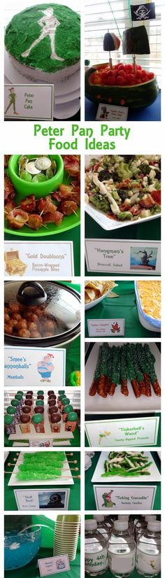 Peter Pan / Neverland Party Food Ideas