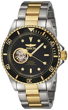 Men's Wrist Watches - Invicta Mens Pro Diver Automatic Stainless Steel Casual Watch ColorTwo Tone Model 20438 -- Click on the image for additional details. (This is an Amazon affiliate link)