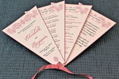 Wedding Program