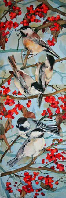 Jan Ford: Watercolor.