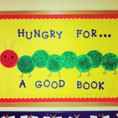 My Very Hungry Caterpillar bulletin board!