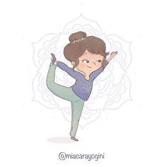 Dancer Pose Yoga, Yoga Illustration, Nataraja, Asana, Disney Characters, Fictional Characters, Character Design, Poses, Graphics