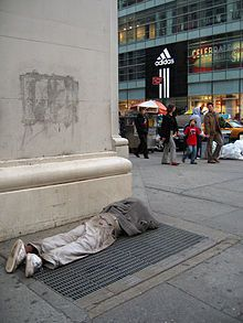 Homelessness in the United States - Wikipedia, the free encyclopedia