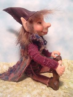SciFi and Fantasy Art *Henri* A Full Moon Forest Elf by Tricia Lancia