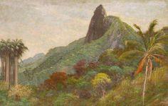 Corcovado. 1903. Óleo sobre tela. Francisco Aurélio de Figueiredo e Mello (Areia, Paraíba, 1854 — 1916, Rio de Janeiro). Encontra-se no Museu de Arte de Belém.