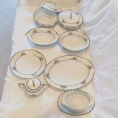 """Noritake China """"Mariana Pattern"""" made in Japan  #NoritakeChina"""