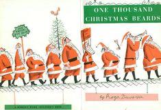 One Thousand Christmas Beards by Roger Duvoisin   tygertale