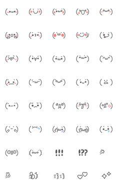 Emoji Drawings, Easy Doodles Drawings, Simple Doodles, Griffonnages Kawaii, Kawaii Faces, Cute Small Drawings, Cute Kawaii Drawings, Kawaii Doodles, Cute Doodles
