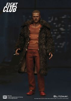 Fight+Club+figurine+1/6+Tyler+Durden+(Brad+Pitt)+Fur+Coat+Ver.+Blitzway