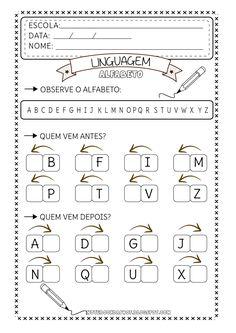 Notebook del Professor: prima e dopo School Worksheets, Kids Playing, Professor, Activities For Kids, Classroom, Teaching, Blog, Homeschooling, Sight Word Activities