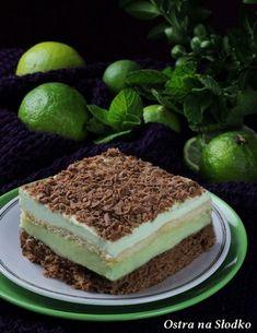 mietusek , ciasto mietowe , ciasto budyniowe , czekoladowo mietowe , czekoladowe z budyniem , ciasto z landrynkami, ostra na slodko , blog kulinarny 2xx