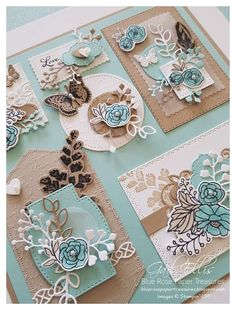 Scrapbook Borders, Crazy Bird, Stampin Up Catalog, Butterfly Cards, Summer Crafts, Stamping Up, Stampin Up Cards, Cardmaking, Framed Art