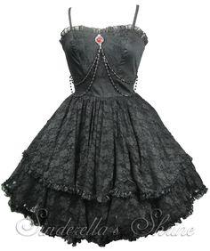 Spin Doctor ZYLPHIA Short Victorian Dress