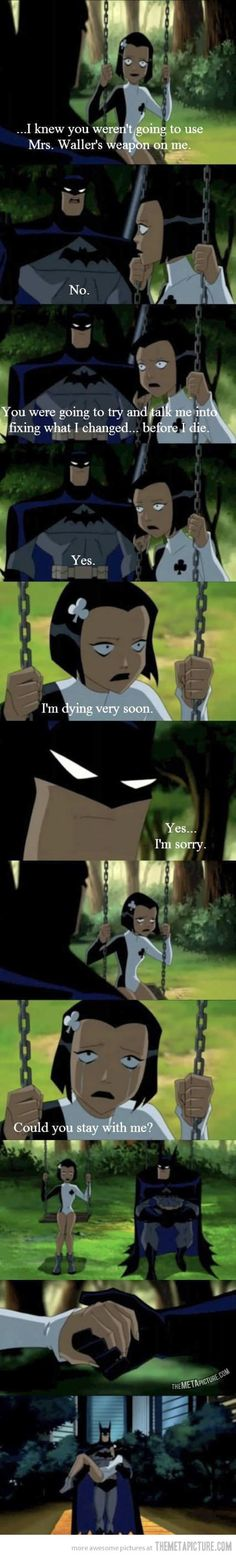 Another reason why Batman is #NO.1