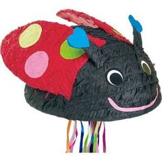 Check out Ladybug Pinata (each) - Wholesale Themed Tableware Decorations and…