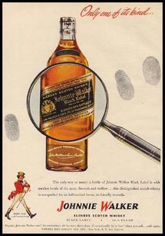 Whisky Johnnie Walker - Propaganda (1947)