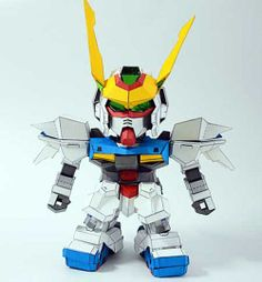 Make Gundam Paper Crafts by Yourself - ZGMF-X12 Out Frame