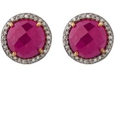 Pre-owned Fine Jewelry Earrings (340 AUD) ❤ liked on Polyvore