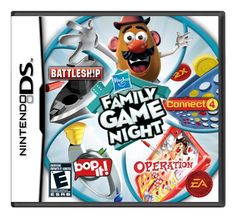 Hasbro Family Game Night  Nintendo DS -- Click image to review more details. Note:It is Affiliate Link to Amazon.