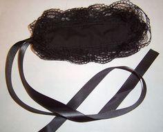 Pure Black Lolita Headband by onekitai, via Flickr