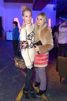 Poppy Delevigne y Laura Baily