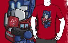 Lil Prime by Matt Moylan transformers optimus prime