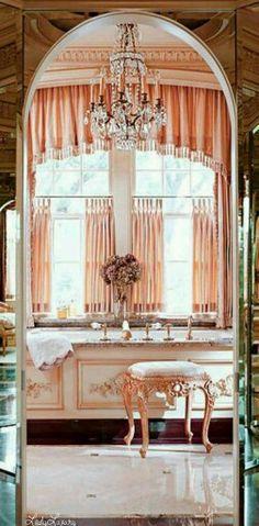 Luxurious Living - Bathroom- | Via  ✤LadyLuxury✤