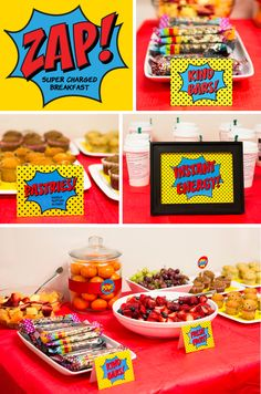 Superhero Staff Appreciation Week - Super Charged Breakfast