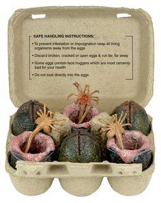 產地直送保證新鮮!NECA 推出紙蛋盒裝「異形蛋」收藏組 | 玩具人Toy People News