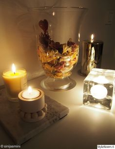 Candlelit mood at my home