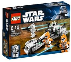 LEGO Star Wars Clone Trooper Battle Pack 7913 >>> More info could be found at the image url.