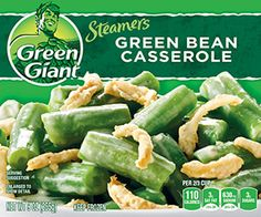 Green Giant® Steamers Green Bean Casserole 9 oz. Box - 9g carb but these onions do not freeze well