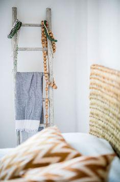 """I'm very happy here,"" says Ibiza interior designer Ibiza Katrina Phillips of her home base in San Juan. ""I feel like this is the real Ibiza. Natural Wood Decor, Ibiza Island, Interior Decorating, Interior Design, Interior Ideas, Ibiza Fashion, Blog Deco, Scandinavian Home, Beach House Decor"