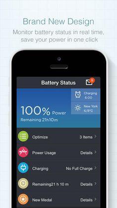 Battery Doctor - Must-have Battery Management App KS Mobile, Inc. 베터리 관리 디자인 굿 내가 받은건 초록색이였는데 주황색으로 바꼈다. 그리고 앱스토어에도 없어지고