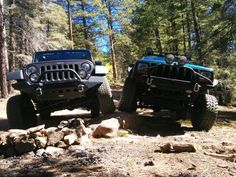 SANTA FE JEEP TOURS stretching a leg with an awesome client on the SKI BASIN TRAIL back in Oct..