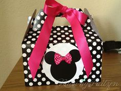 Mini Mouse Party Pack - Where do I get the box?