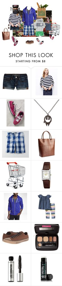 """""""8/7 (Night)"""" by mana-g ❤ liked on Polyvore featuring American Eagle Outfitters, Ann Taylor, Brooks, H&M, Melissa & Doug, Citizen, Express, Gymboree, Old Navy and Carter's"""