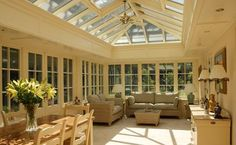 Oakminster - What makes an orangery such a very different space to that of a conservatory...