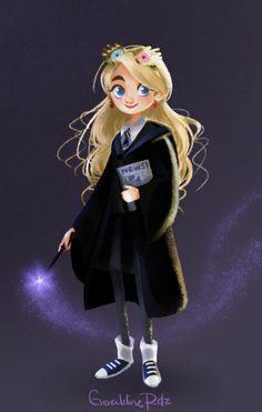 Luna Lovegood, my soulmate