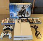 PlayStation 4 PS4 Destiny Edition 500GB with Extra Controller and 4 More Games
