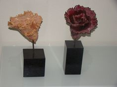 clay flower art