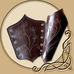 Leather Armour - Elven Maid Bracers - TheVikingStore.co.uk