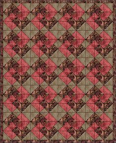 Card Trick - the quilt pattern I would do... if I got 'round to quilting. Check out the links to other people's versions on this page!