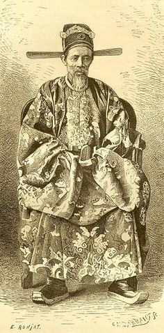 Un mandarin, croquis du baron Brossard de Corbigny