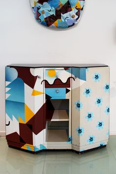 Credenza Re Design by Alessandro Mendini /// /// More on Interiorator.com - transmitting tomorrow's trends today