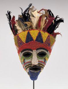 Tabwe mask, Zambia.