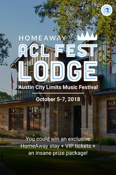 You could win a HomeAway stay steps from the Austin City Limits Music Festival (ACL) gates, six VIP tickets and an insane prize package! Enter now! Austin City Limits, Vip Tickets, Girls Getaway, Acl, Weekends Away, Gates, Places To Visit, Trucks, Music